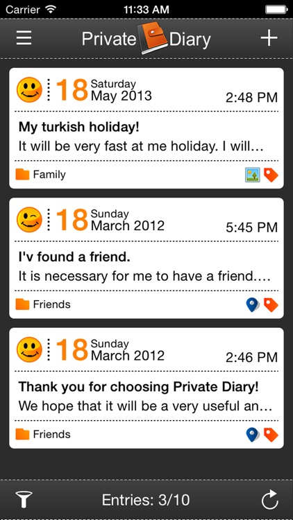 Private Diary (MihalichDS) screenshot-1