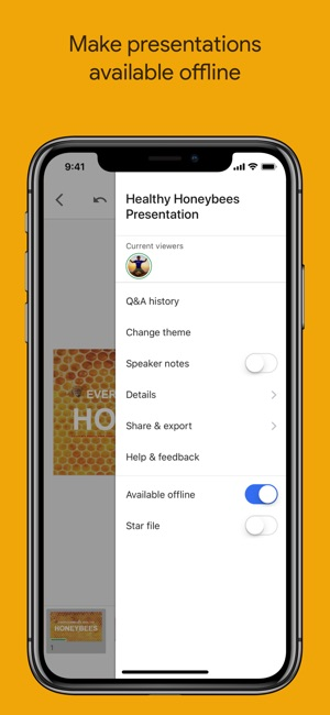 google slides on the app store