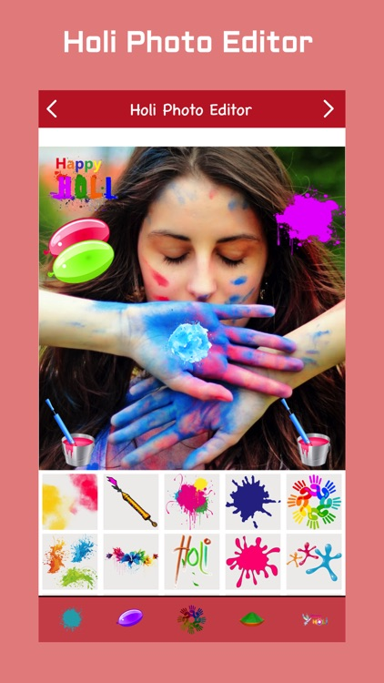 Holi Photo Editor screenshot-1