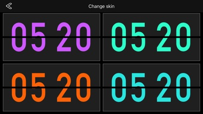 Flip Clock Pro - digital clock Screenshots
