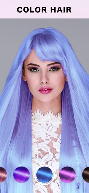Fabby Look — Hair Color Editor on the App Store
