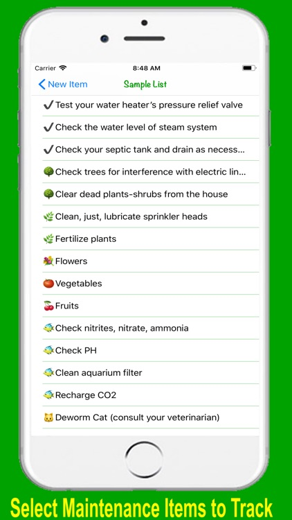 HomeMaint - Home Maintenance screenshot-4