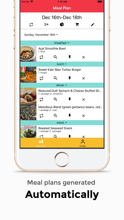 Cracked: meal planner