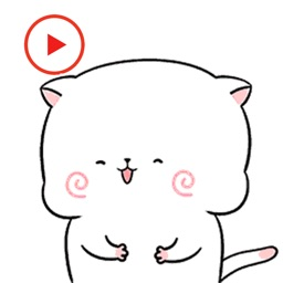 Kitty Stickers Animated