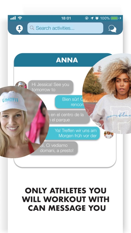 Chatfit: Training Together screenshot-3