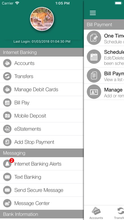 Heartland Bank Mobile Banking screenshot-4
