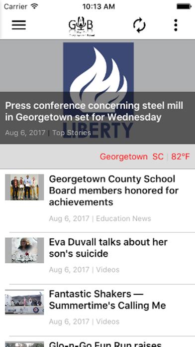 Gab News screenshot 2