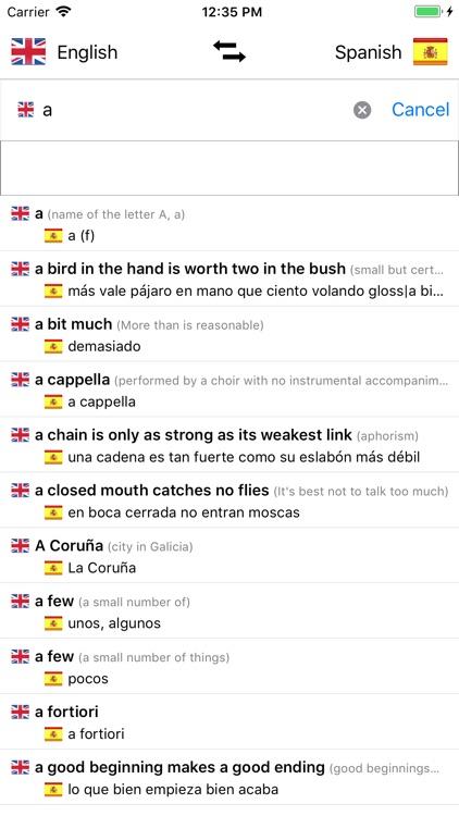 Spanish-English screenshot-3