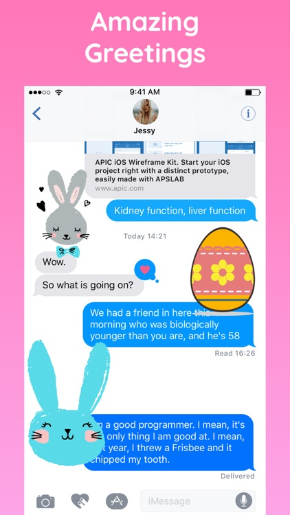 Happy Easter with Bunny & Egg screenshot-3