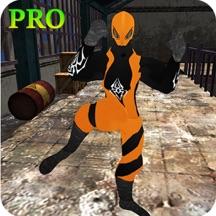Flying Super Hero: Legacy Shooter - Pro