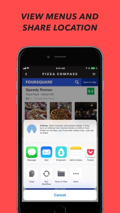 Pizza Compass screenshot-3