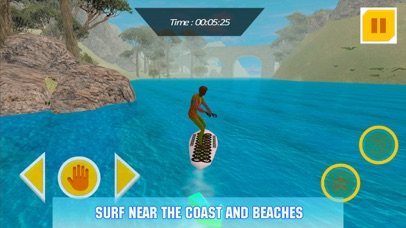 Water Surfing Board: Rider Sim Screenshot on iOS