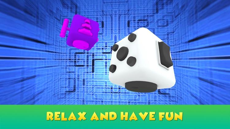 Hand Fidget Cube Simulator 3D screenshot-3
