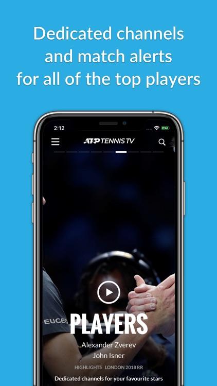 Tennis TV - Live Streaming screenshot-3
