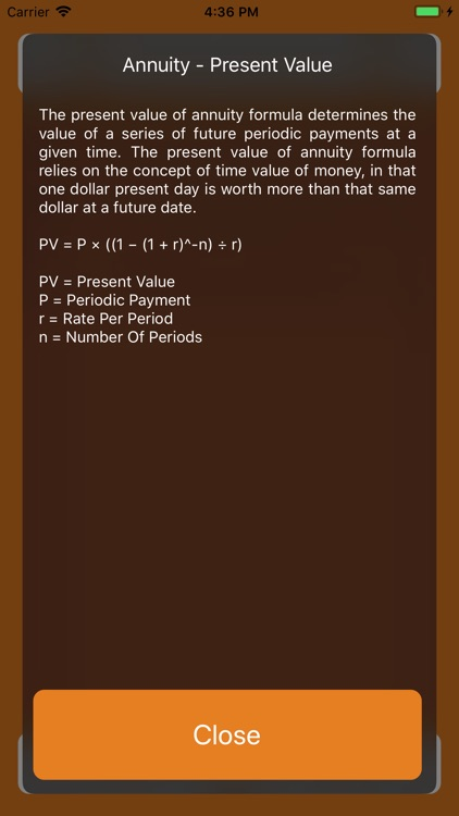 Finance Calculator iOS screenshot-3