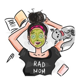 Mom Stickers - Sid Y