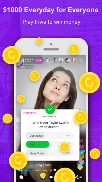 download Live.me – Live Video Chat apps 1