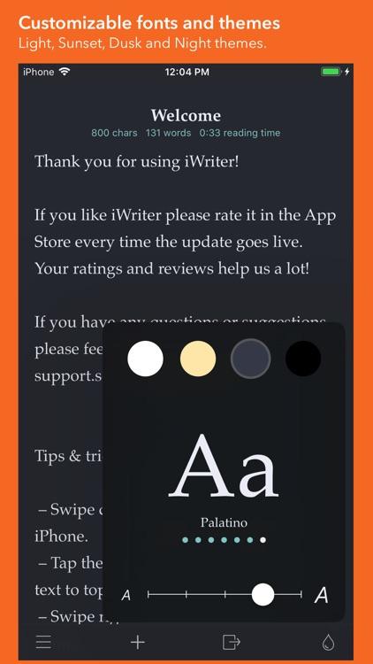 iWriter screenshot-3