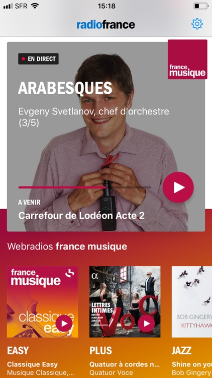 Radio France - direct/réécoute screenshot-7