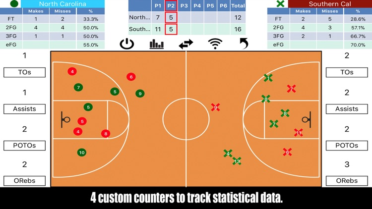 Tap Shots - Bball Shot Tracker screenshot-2