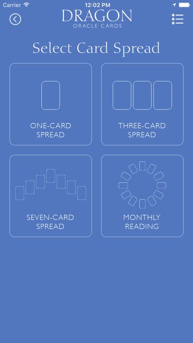 Dragon Oracle Cards screenshot 2