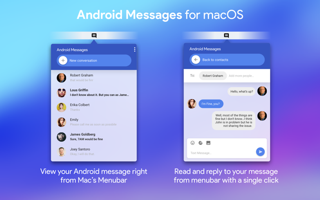 android messages app