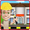 Fire Station House Builder & Construction Game