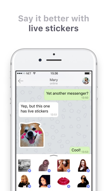 TamTam – Live Chat Messenger with Stickers screenshot-4