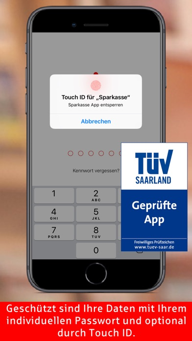 Screenshot for Sparkasse  Ihre mobile Filiale in Germany App Store