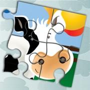 动物拼图:农场