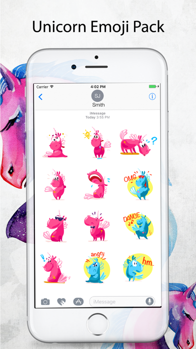 Unicorn Stickers Pack - Emoji screenshot four