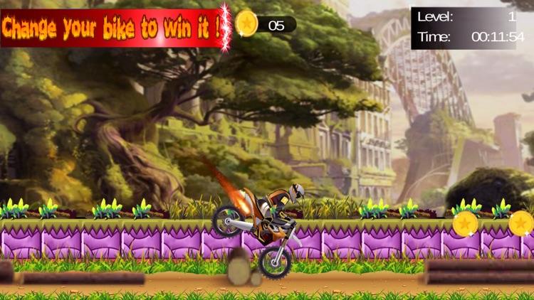 Dirt Motor bike Racing 2D