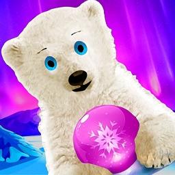 Polar Bear Bubble Shooter