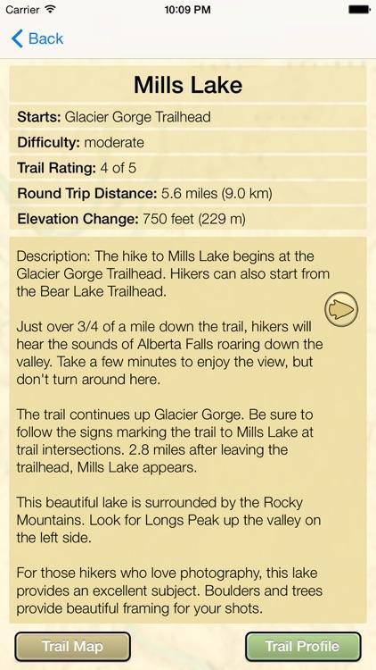Hiking Rocky Mountain N. P. screenshot-4