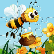 Insects Games: Puzzle for Kids