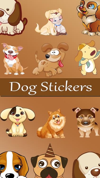 DogEmoji Love Stickers
