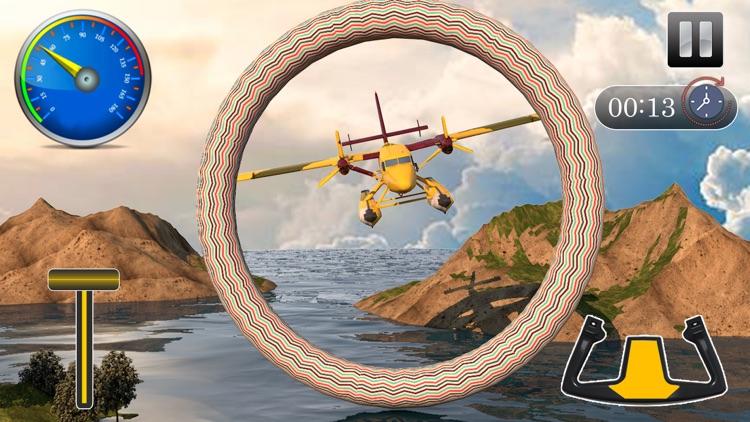 Flying Sea-Plane Games 2018 screenshot-5