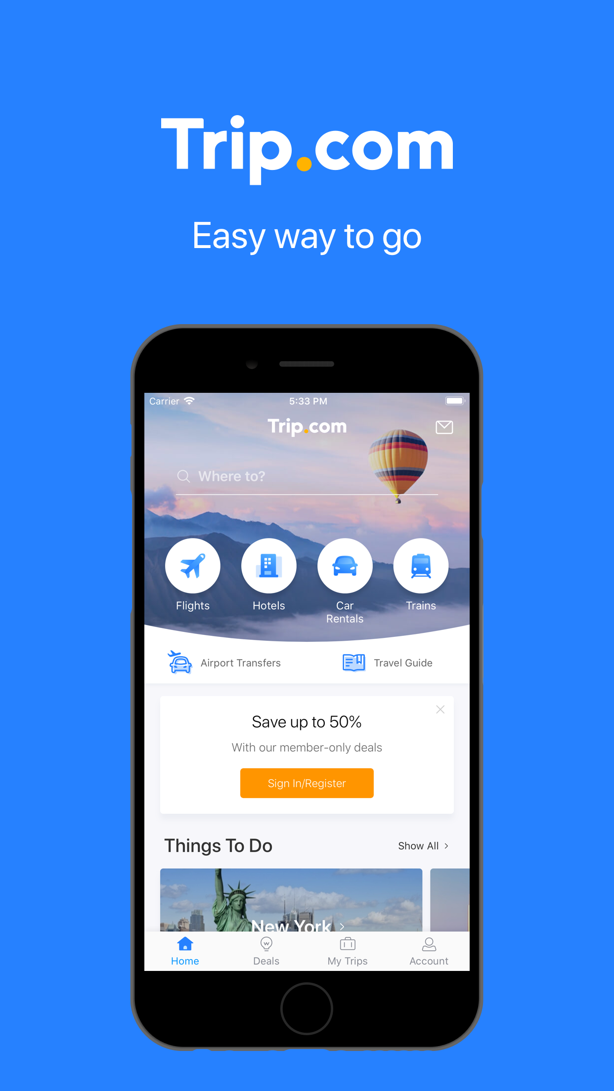 Trip.com – Flights & Hotels Screenshot