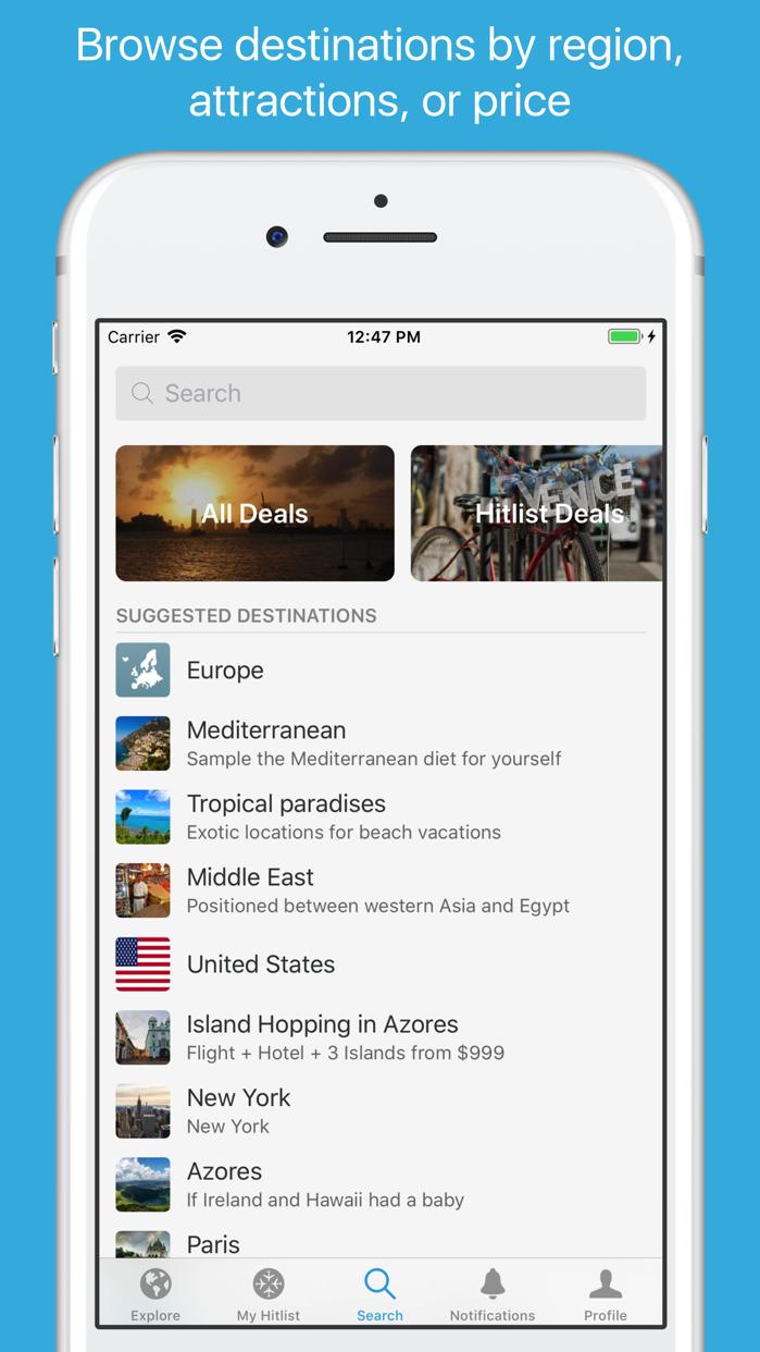 Hitlist Screenshot