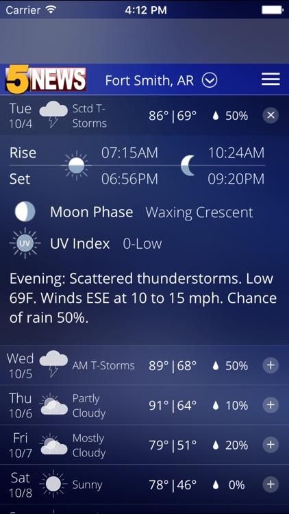 5 NEWS Weather