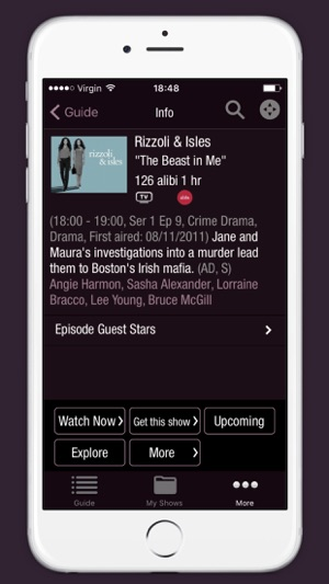 Virgin TV Control on the App Store