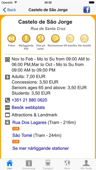 Screenshot for Lissabon Reseguide Offline in Sweden App Store