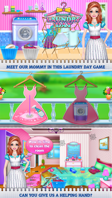 Mommy's Laundry Day Screenshot