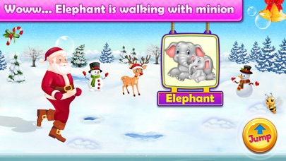 Santa Run - Learning FlashCard screenshot 6