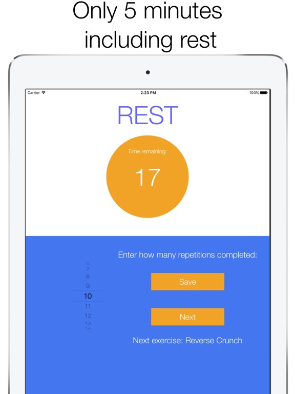 5 Minute Home Workout-ipad-2