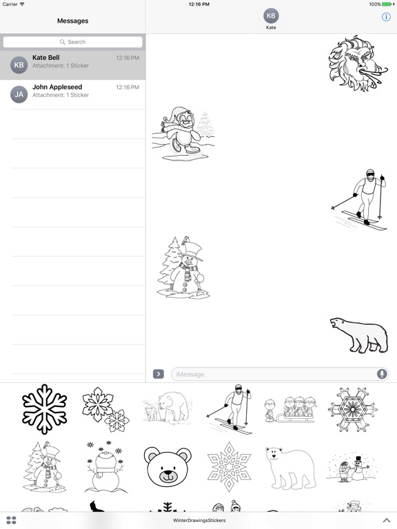 Winter Drawings Pack screenshot 3