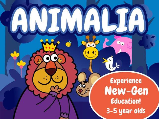 Animalia by BubbleBud Kids