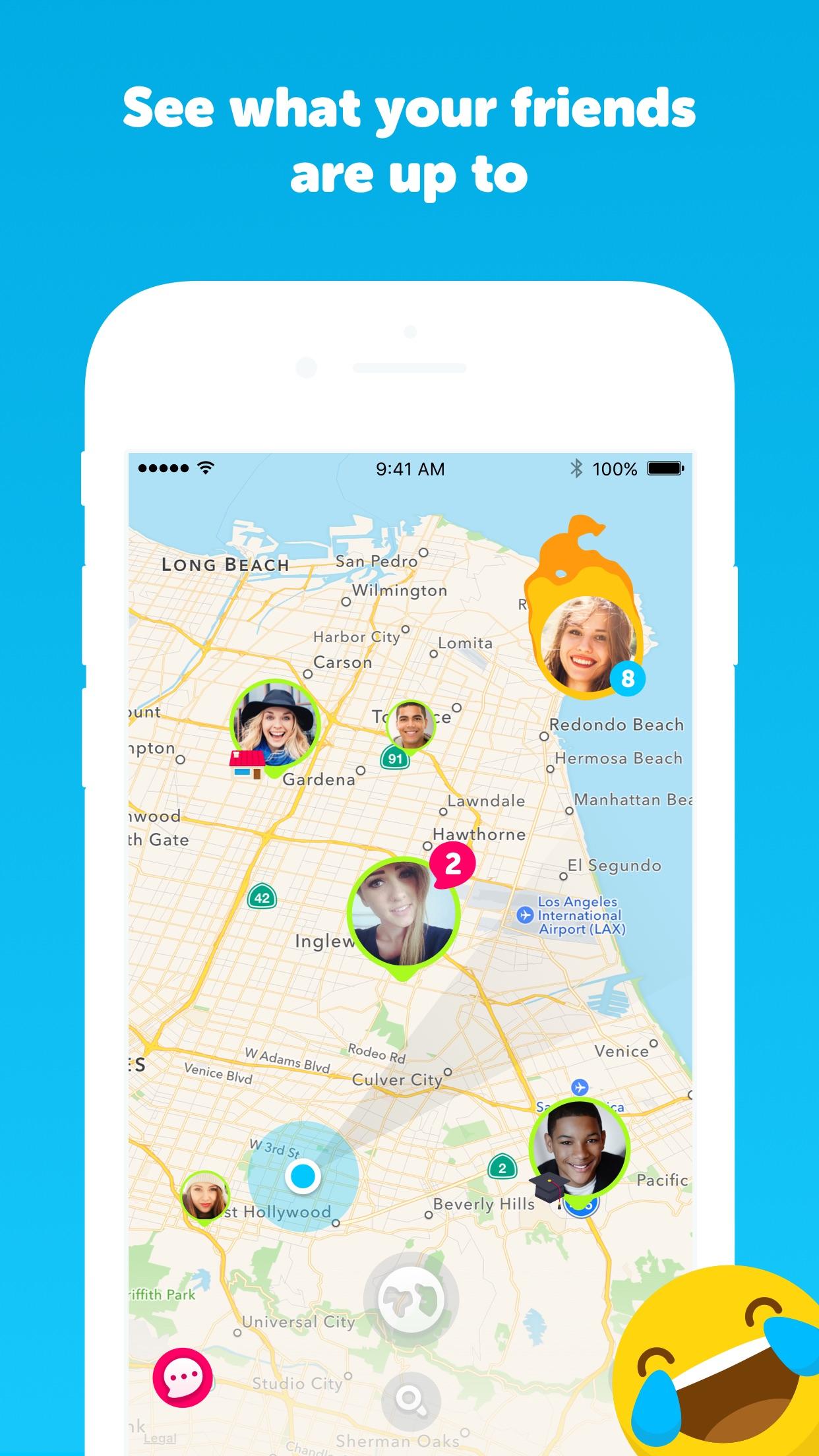 Zenly - your social map Screenshot