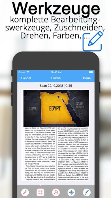 Scanner Dokumenten übersetzerScreenshot von 10