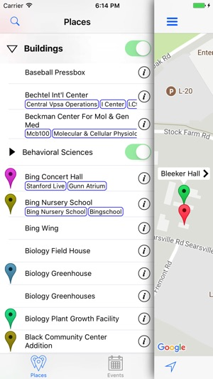 Stanford Map on the App Store